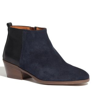 Madewell Women's Blue The Charley Boot Size 8.5